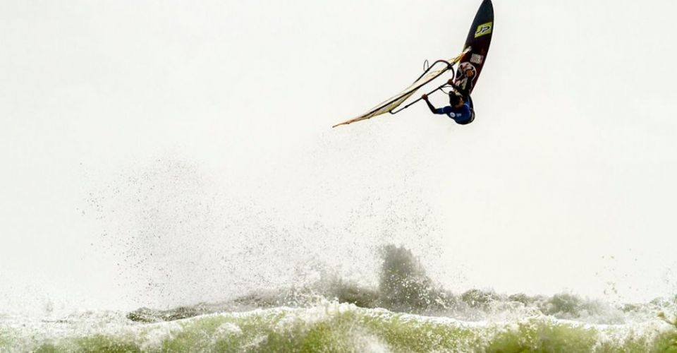 photo credit: International Windsurfing Tour - Morgan Noireaux Backloop at the Wave Bash in Pistol River 2017