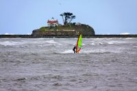 Crescent city windsurfer