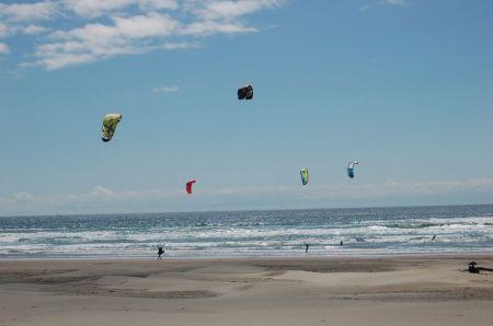 Kiting In Manzanita